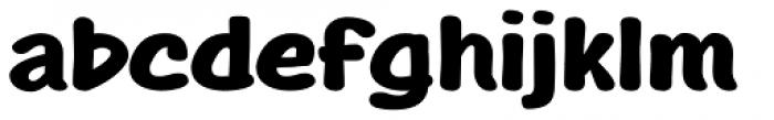 Agak� Bold Font LOWERCASE