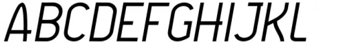 Agane Light Italic Font UPPERCASE