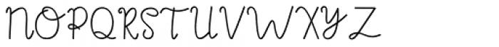Agashi Signature Regular Font UPPERCASE