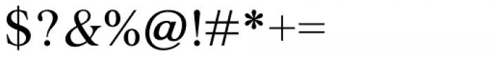 Agatho Medium Font OTHER CHARS
