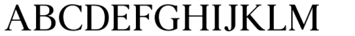 Agatho Medium Font UPPERCASE