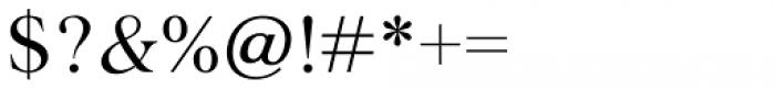 Agatho Regular Font OTHER CHARS