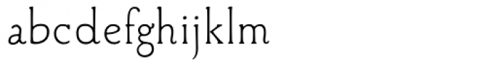 Aged Book Font LOWERCASE