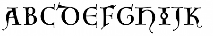 Agedage Simple Versal Font UPPERCASE