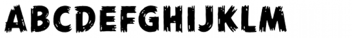 Agent of the Uncanny Font UPPERCASE