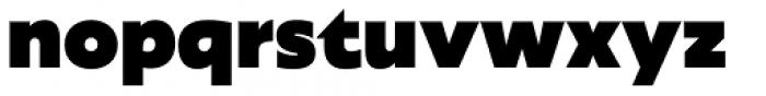 Agile Sans Heavy Font LOWERCASE