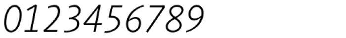 Agilita Pro ExtraLight Italic Font OTHER CHARS