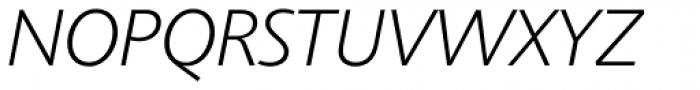 Agilita Pro ExtraLight Italic Font UPPERCASE