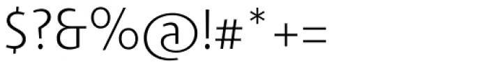 Agilita Std ExtraLight Font OTHER CHARS
