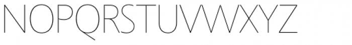Agilita Std UltraThin Font UPPERCASE