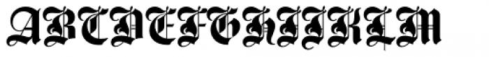 Agincourt Com Font UPPERCASE