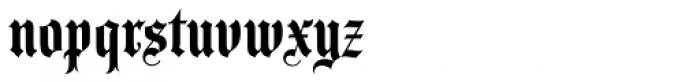Agincourt Std Font LOWERCASE