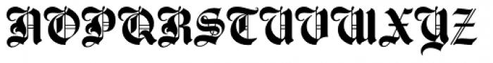 Agincourt Font UPPERCASE