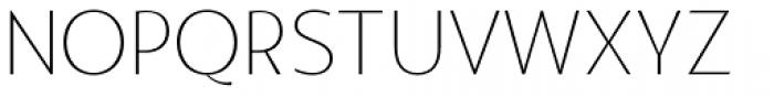 Agis Extra Light Font UPPERCASE