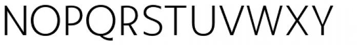 Agis Light Font UPPERCASE