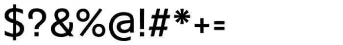 Agis Medium Font OTHER CHARS