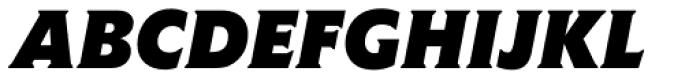 Agora BQ Bold Italic Font UPPERCASE