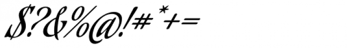 Aguafina Script Pro Font OTHER CHARS