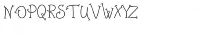 Agrifan Font UPPERCASE