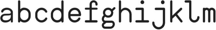 AHAMONO otf (400) Font LOWERCASE