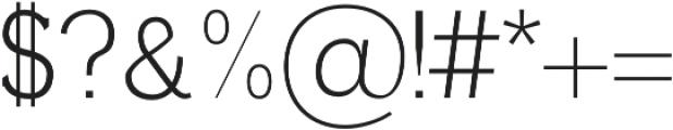 Ahijah otf (400) Font OTHER CHARS