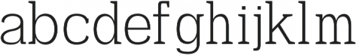 Ahijah otf (400) Font LOWERCASE