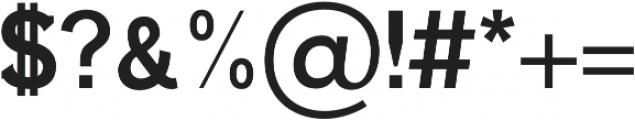 Ahijah otf (700) Font OTHER CHARS