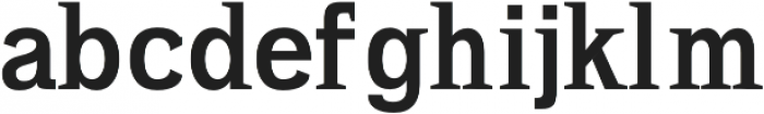 Ahijah otf (700) Font LOWERCASE