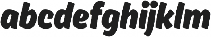 Ahkio Bold otf (700) Font LOWERCASE