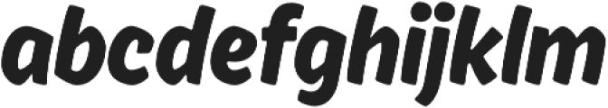 Ahkio otf (400) Font LOWERCASE