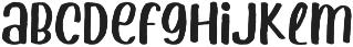 Ahoy Amigo otf (400) Font LOWERCASE