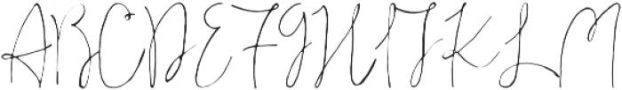 Ahsan Calligraphy otf (400) Font UPPERCASE