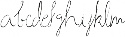 Ahsan Calligraphy otf (400) Font LOWERCASE