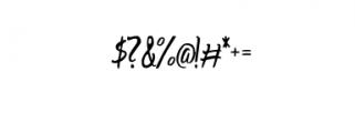 AharonRegular.otf Font OTHER CHARS