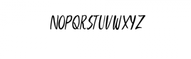 AharonRegular.otf Font UPPERCASE