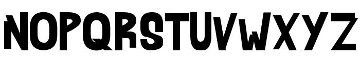 AHDN Font UPPERCASE