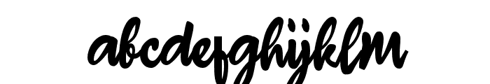 Ahay Hore_ Font LOWERCASE