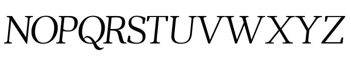 Ahellya Italic Font UPPERCASE