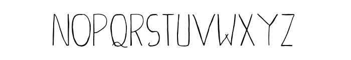 Ahsan Creative Font LOWERCASE