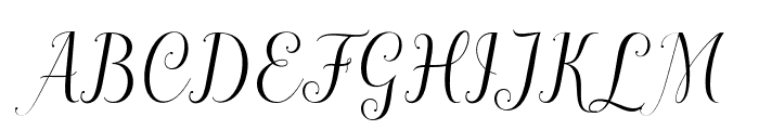 ahattomdemo Font UPPERCASE