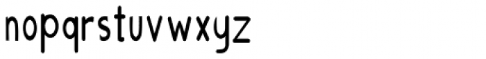 AHMED NEW 5 Font LOWERCASE