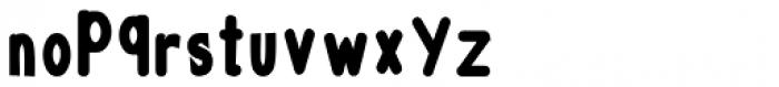 AHMED NEW B Font LOWERCASE