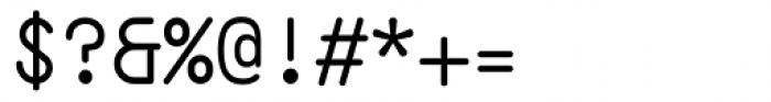 Ahamono Font OTHER CHARS