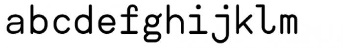 Ahamono Font LOWERCASE