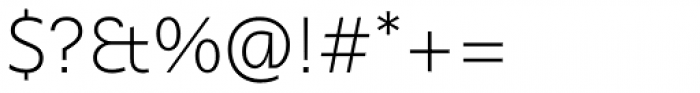 Ahimsa Extra Light Font OTHER CHARS