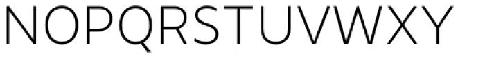 Ahimsa Extra Light Font UPPERCASE