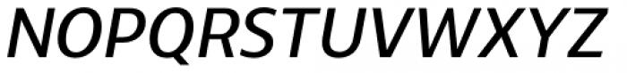 Ahimsa Regular Italic Font UPPERCASE