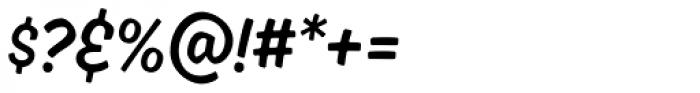 Ahkio Thin Font OTHER CHARS