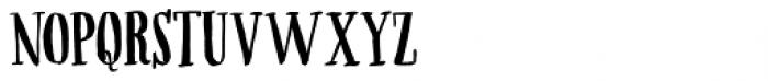 Ahorn Font UPPERCASE