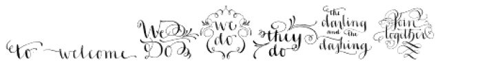 Ahra Hand Font LOWERCASE